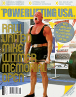 POWERLIFTING USA AUGUST 2010 ISSUE
