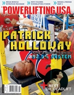 POWERLIFTING USA JULY 2010 ISSUE