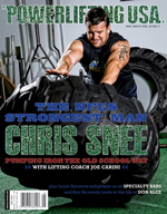 POWERLIFTING USA MAY 2010 ISSUE