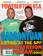 POWERLIFTING USA OCTOBER 2010 ISSUE