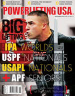 POWERLIFTING USA SEPTEMBER 2010 ISSUE