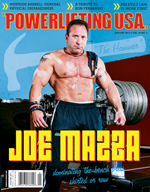POWERLIFTING USA JANUARY 2011 ISSUE