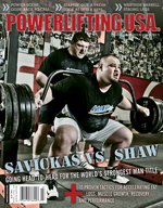 POWERLIFTING USA JULY 2011 ISSUE