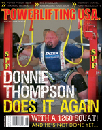 POWERLIFTING USA JUN 2011 ISSUE