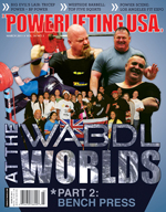 POWERLIFTING USA MARCH 2011 ISSUE