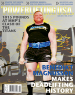 POWERLIFTING USA MAY 2011 ISSUE