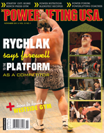 POWERLIFTING USA NOVEMBER 2011 ISSUE