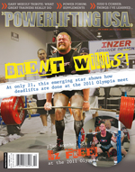 POWERLIFTING USA OCTOBER 2011 ISSUE