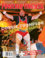 POWERLIFTING USA SEPTEMBER 2011 ISSUE