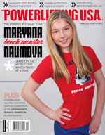 POWERLIFTING USA APRIL 2012 ISSUE